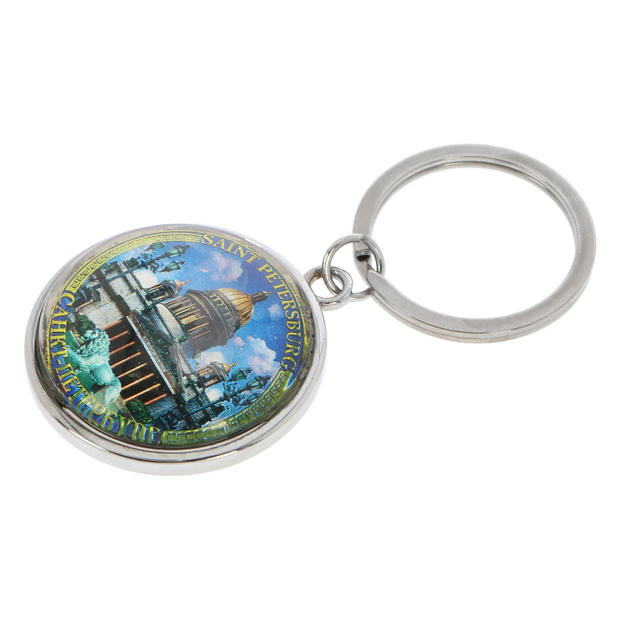 Round-shaped Keychain