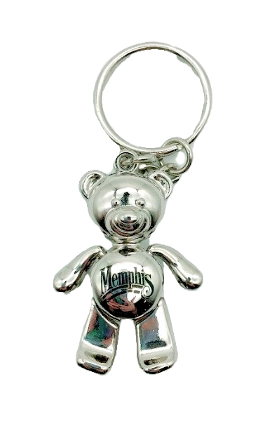 Metal 3D Terry bear keychain