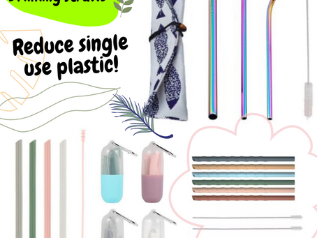 Silicone Drinking Straws