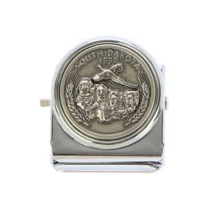 MR_S004 Metal binder clip with magnet