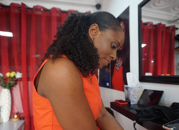 Kinky Curly Ponytail  extensions