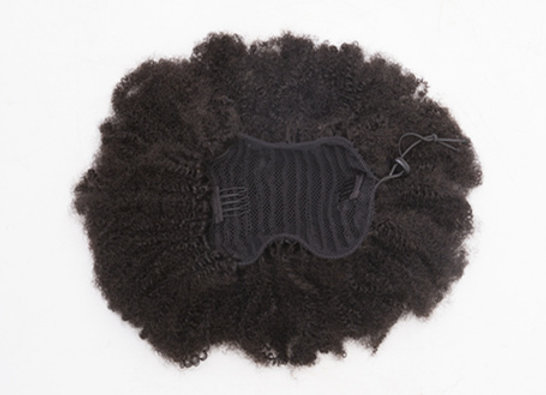 Kinky ponytail extensions