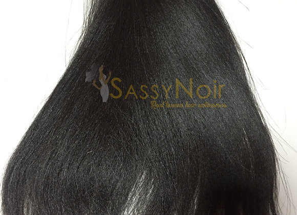 Relaxed perm weft