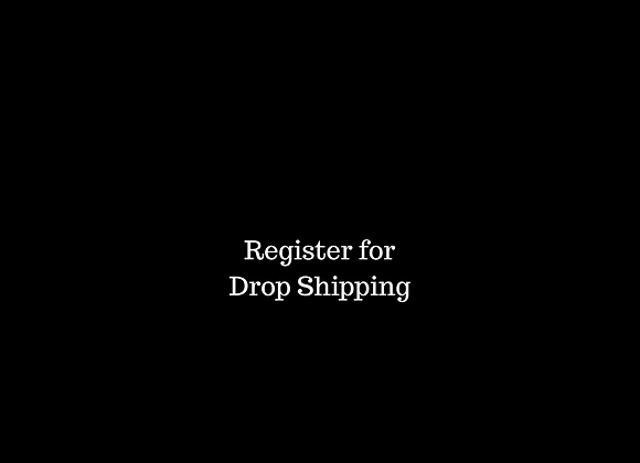 Register for Drop shipping