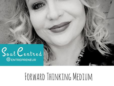 Rebecca Gibson - A forward thinking medium