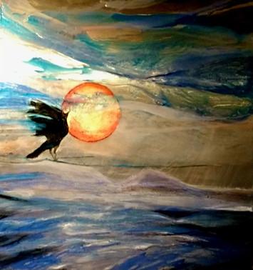 Blackbird Must Fly Mulberry Moon