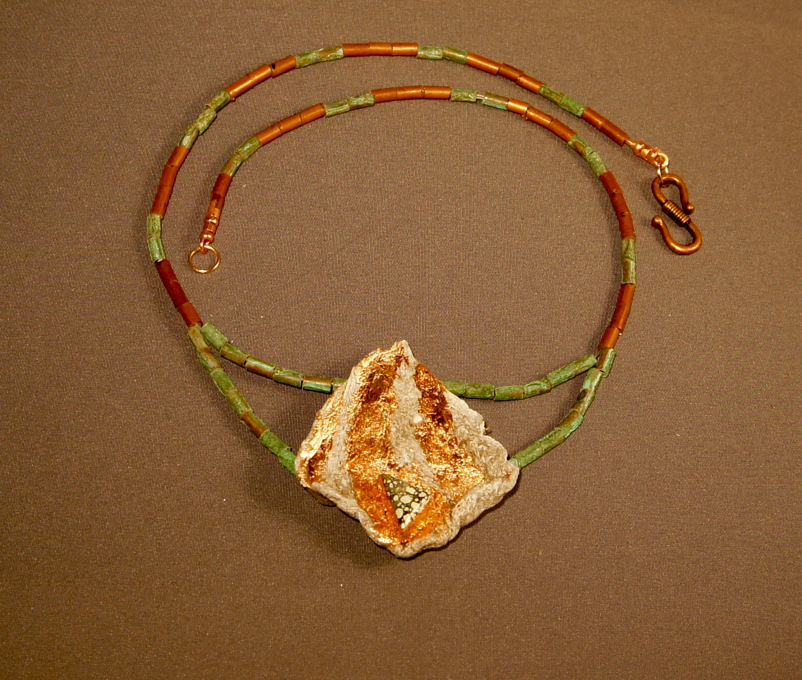 Recovery Collection Indigenous necklace unedited