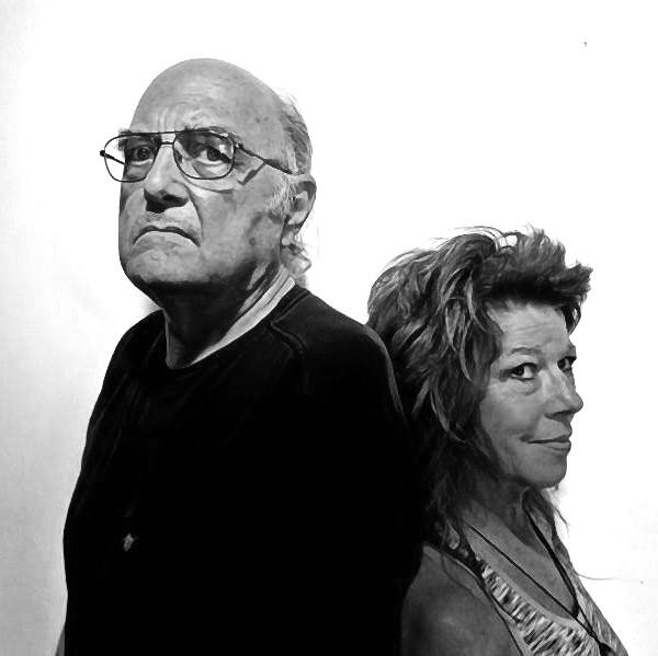 Chester Perkowski and Rachel Thompson artists