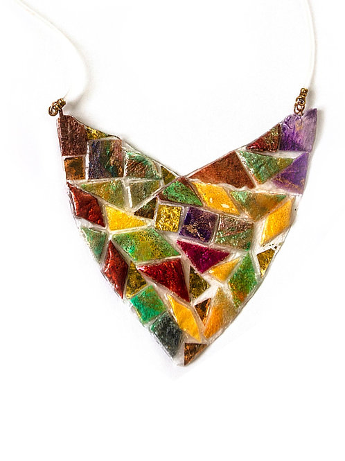 Tesserae Mosaic Necklace 1