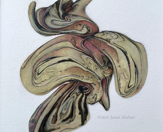 Endangered: Chance #3.2 ©2021 Janet Maher,