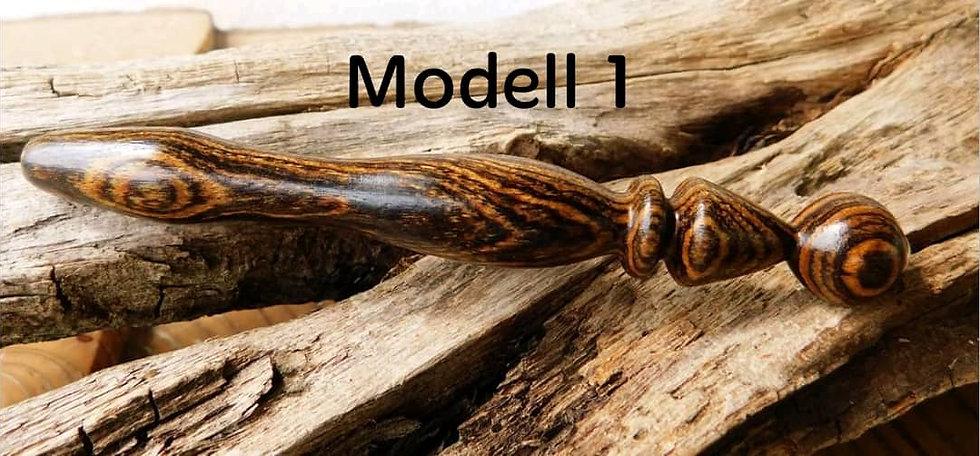 Häkelnadel aus Bocote, 2 Modelle