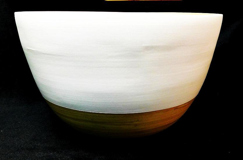 Wollschale, Bobbelschale, weiß, ca. 26 cm