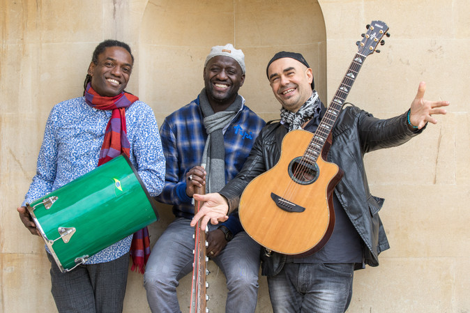 AKA Trio's 'JOY' - Antonio Forcione - Seckou Keita - Adriano Adewale - to be our next re