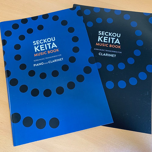 Seckou Keita Music Book / Piano & Clarinet + Clarinet Supplement