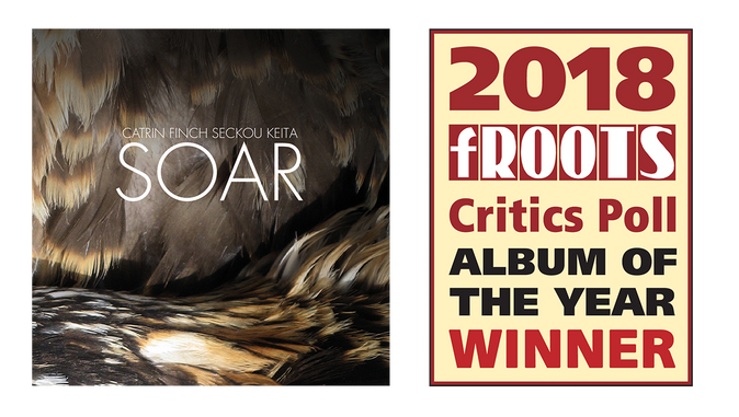 Catrin Finch and Seckou Keita win fRoots Critics Poll Album Of The Year for the second time