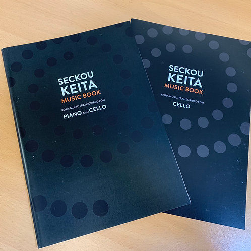 Seckou Keita Music Book / Piano and Cello + Cello Supplement