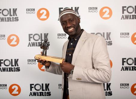 Seckou Keita wins Musician of the Year in the BBC radio 2 Folk Awards 2019