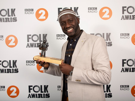 Seckou Keita wins Musician of the Year in the BBC radio 2 Folk Awards 2019