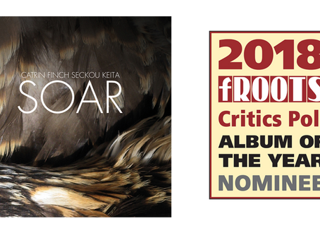 SOAR nominated for fRoots Critics Poll Album Of The Year 2018