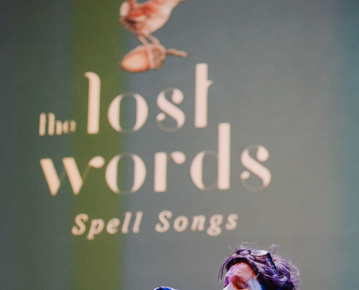 Lost Words Spell Songs tour images by El