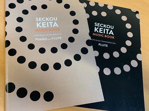 Seckou Keita Music Book / Piano and Flute + Flute Supplement