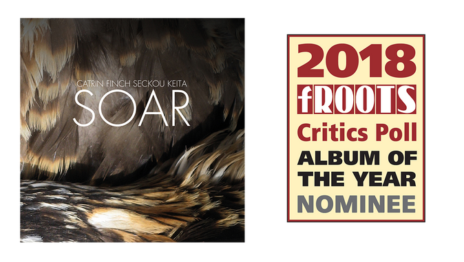 Catrin and Seckou's SOAR Nominated for fRoots Critic Poll Album of the Year 2018