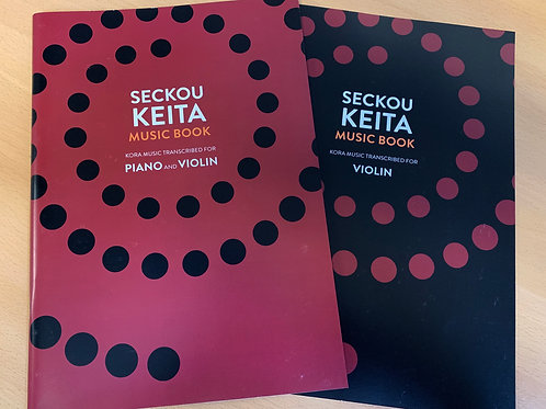 Seckou Keita Music Book / Piano and Violin + Violin Supplement