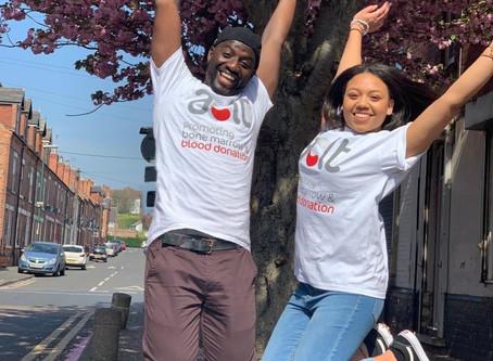 Team Keita take to the skies to raise money for the African Caribbean Leukemia Trust