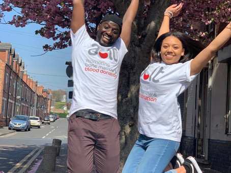 Team Keita take to the skies to raise money for the African Caribbean Leukemia Trust