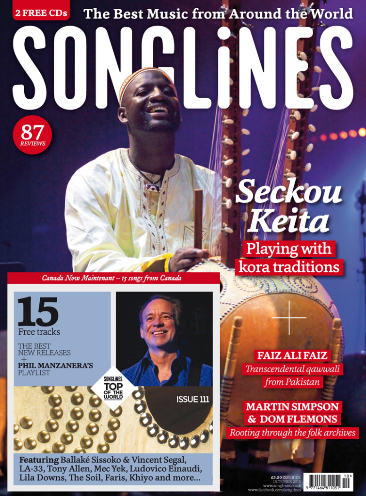 Songlines Cover October 2015