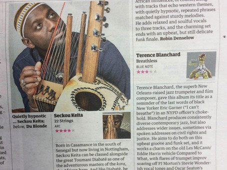 4* review from The Guardian's Robin Denselow for 22 Strings