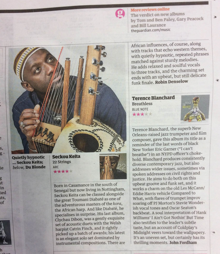 The Guardian review 22 May