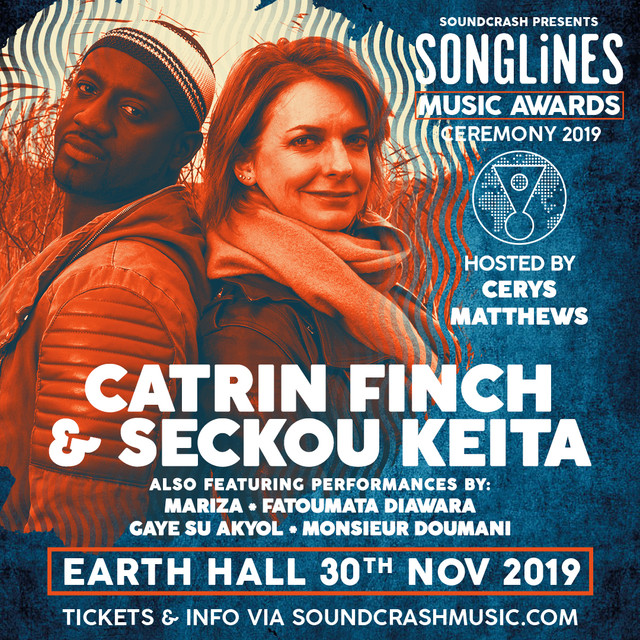 Catrin Finch and Seckou Keita to perform at Songlines Music Awards 2019