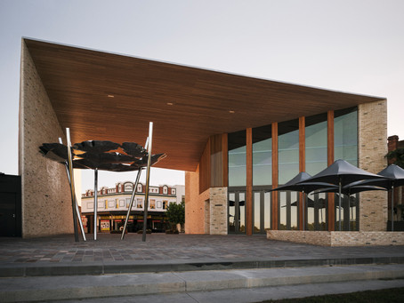 Maitland's Riverlink Building: A unique public living room linking the town to the river