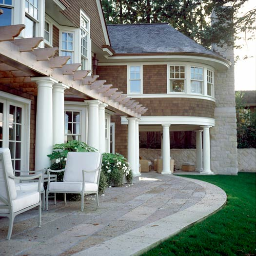 Antique and Newly Quarried Stone