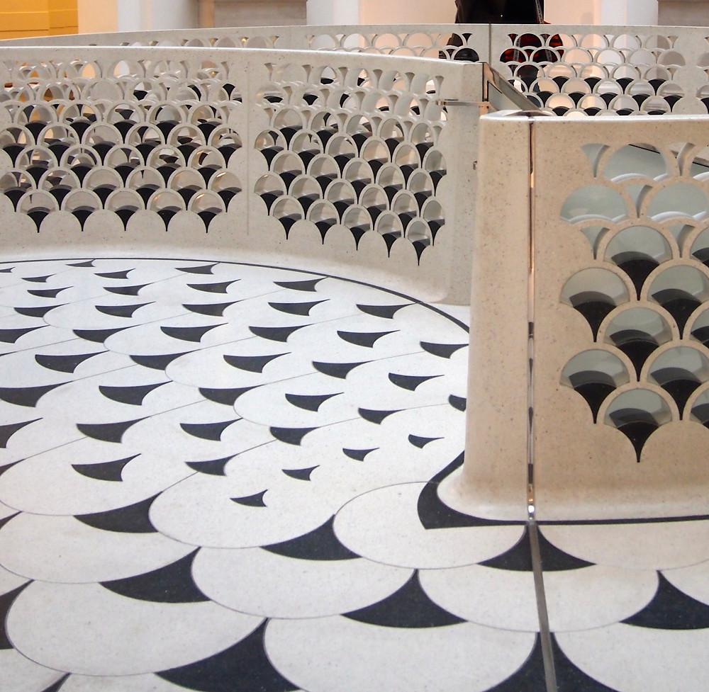 Bianco Terrazzo Tate Britain