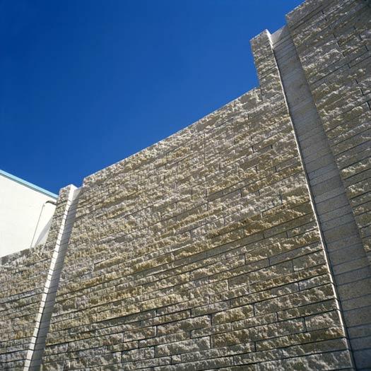 Golden Dune Granite wall