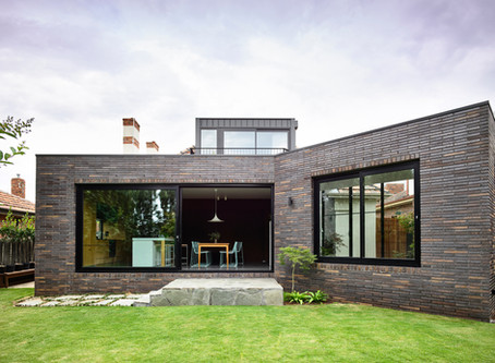 Krause Emperor bricks are the perfect fit on a unique addition at Ascot Vale