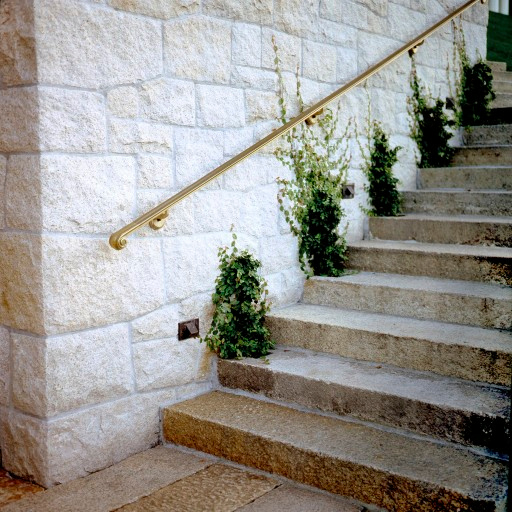 Dune Granite stairs