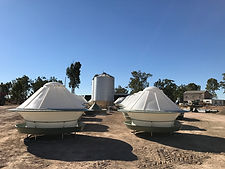 Round poly stock feeders
