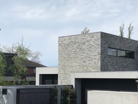 Petersen D91 bricks help to deliver a timeless yet bold new home in Kew East