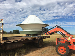 EASY TO MOVE POLY CATTLE FEEDER