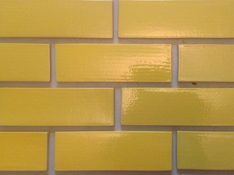 Brick Facing Tiles Robertson's Building Products | Yellow glazed brick facing ...