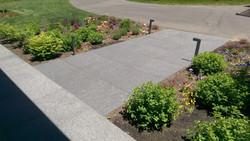 Nightlight Granite paving