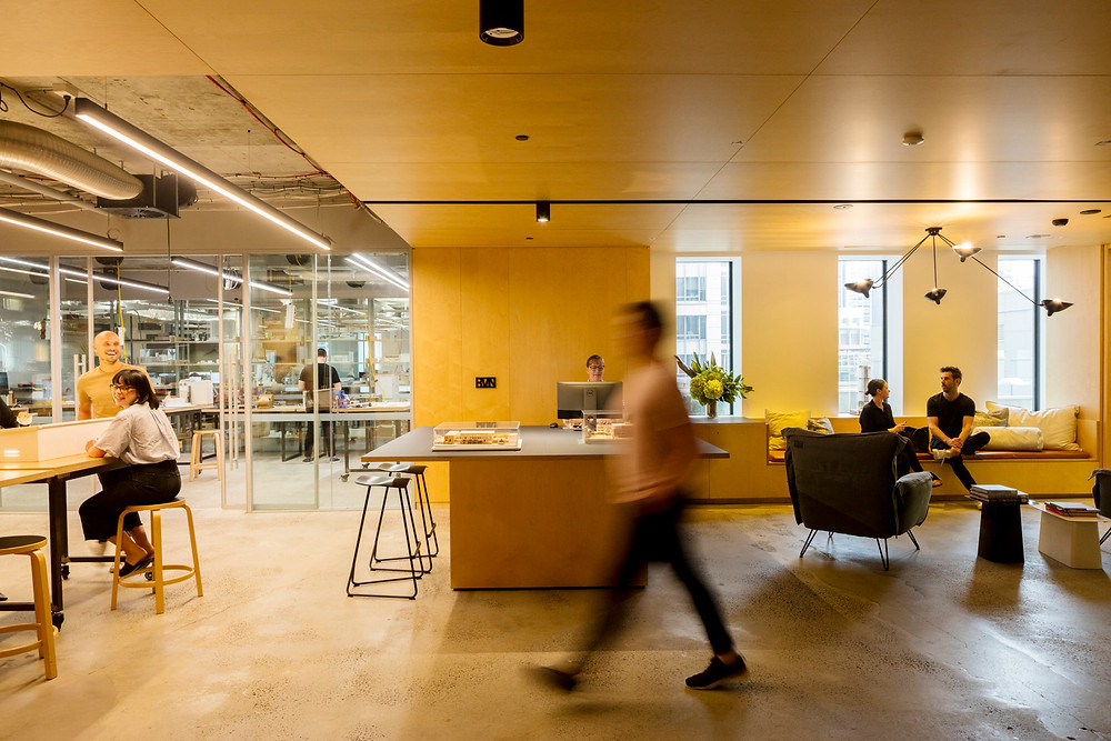 BVN Sydney Studio refurbishment