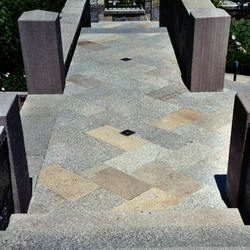 Newly quarried and Antique Stone