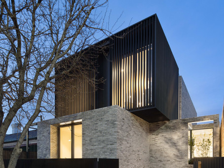 Caroline's contrasting material palette creates a tale of two houses in South Yarra