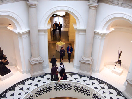 Terrazzo dazzles front and centre at London's refurbished Tate Britain art museum