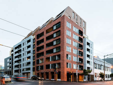 Pace of Collingwood's brick inlay façade creates a bold and distinctive streetscape