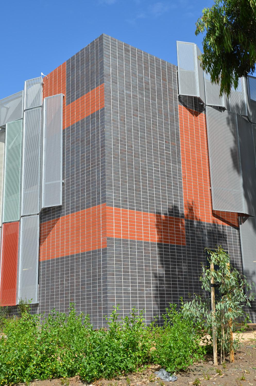 Knox Private Hospital Car Park Brick Tile Facade